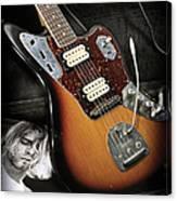 Fender Kurt Cobain Jaguar Electric Canvas Print