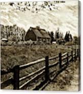 Ferndale Barn Canvas Print