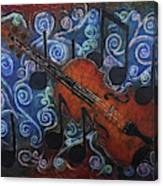 Fiddle 1 Canvas Print