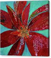 Fiery Bromeliad I Canvas Print
