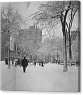 Fifth Avenue And 25th Street Canvas Print