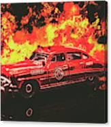 Fire Hornet Canvas Print