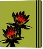 Fire Lilies Canvas Print