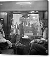 First Class Travel Canvas Print