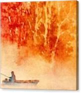 Fisherman's Mist Canvas Print