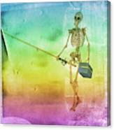 Fishing Man Canvas Print