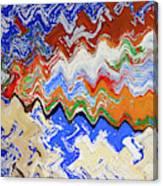 Flaking Paint Canvas Print