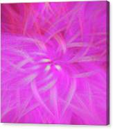 Floral Imprint Canvas Print