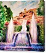 Florence Fountains Canvas Print