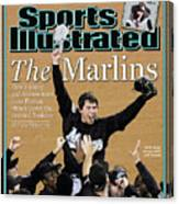 Florida Marlins Josh Beckett, 2003 World Series Sports Illustrated Cover Canvas Print