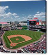 Florida Marlins V Washington Nationals Canvas Print