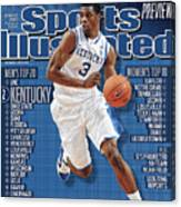 Florida V Kentucky Sports Illustrated Cover Canvas Print
