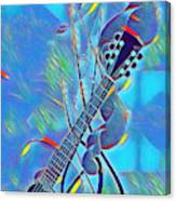 Flow Of Music Canvas Print