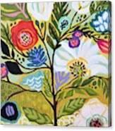 Flower Tree I    Canvas Print