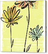 Flowers In Springtime Canvas Print
