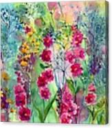 Flowery Fairy Tales Canvas Print