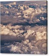 Flying Over The Rocky Mountains Canvas Print