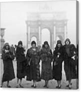 Follies Beauties Score Hit In France Canvas Print