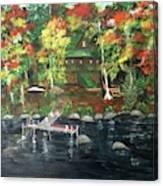 Fond Memories At Tupper Lake Canvas Print