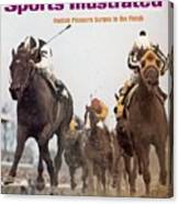 Foolish Pleasure, 1975 Kentucky Derby Sports Illustrated Cover Canvas Print
