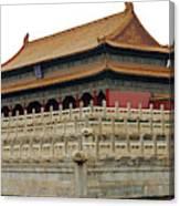 Forbidden City 60 Canvas Print