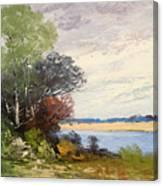 Fox River 1909 Canvas Print