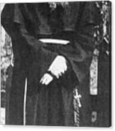 Franciscan Martyr Saint Maximilian Kolbe Canvas Print