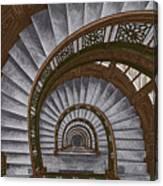 Frank Lloyd Wright - The Rookery Canvas Print
