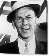 Frank Sinatra About 1961 Canvas Print