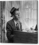 Frank Sinatra As Barney Sloan In Young Canvas Print