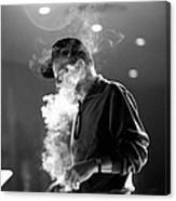 Frank Sinatra During Rehearsals Canvas Print