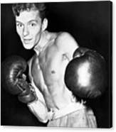 Frank Sinatra In Boxing Pose Canvas Print