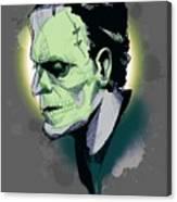 Frankenskull Canvas Print