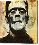 Frankenstein's Notebooks Canvas Print