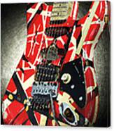 Frankenstrat Studio Shoot Canvas Print