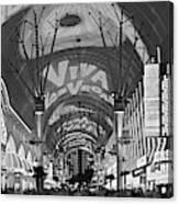 Fremont Street Experience, Las Vegas Canvas Print