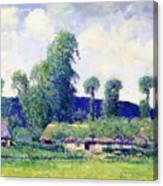 French Farm Canvas Print