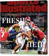 Fresh Heir Tua Tagovailoa, The Newest And Youngest King* In Sports Illustrated Cover Canvas Print
