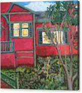 Fresh yard Canvas Print