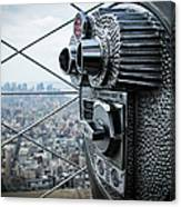 From Observation Deck Canvas Print