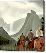 Frontier Trail Canvas Print