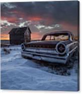 Frozen Galaxie 500  Canvas Print