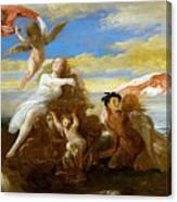 Galatea And Polyphemus  Canvas Print