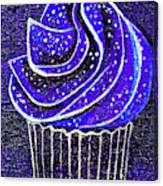 Galactic Universe Cupcake Canvas Print