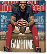 Gametime Are They Ready Sports Illustrated Cover Canvas Print