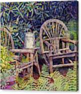 Garden Retreat Canvas Print
