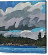 Gargantua Harbour Island Canvas Print