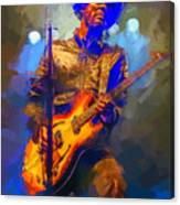 Gary Clark Jr Canvas Print