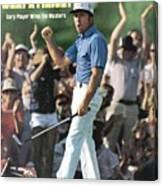Gary Player, 1978 Masters Sports Illustrated Cover Canvas Print