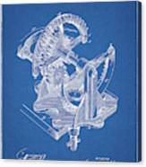 Gear Patent Design Canvas Print